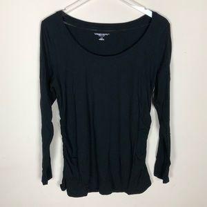 Liz Lange for Target Long sleeve t-shirt, Black